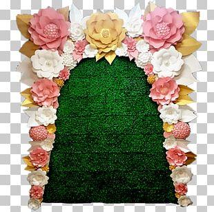 Floral Design Cut Flowers Pink M Petal PNG