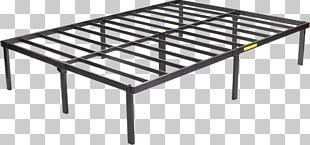 Bed Frame Platform Bed Mattress Box-spring PNG