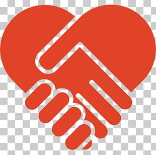 Computer Icons Heart Handshake Symbol PNG