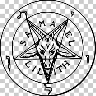 Church Of Satan The Satanic Bible Sigil Of Baphomet Satanism PNG