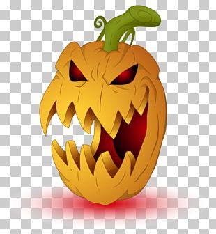 Pumpkin Jack-o'-lantern Halloween PNG