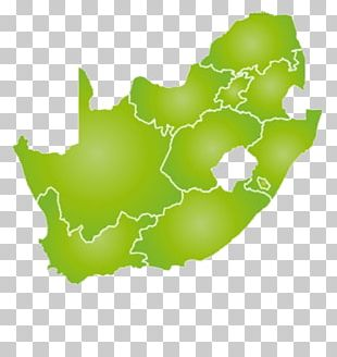 South Africa Blank Map Map PNG
