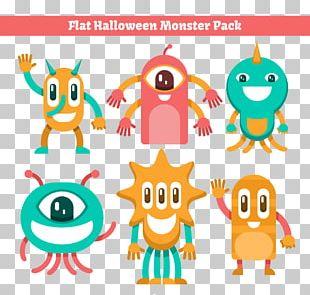 Halloween Monsters Euclidean PNG