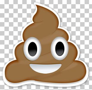 Pile Of Poo Emoji Sticker Wall Decal Feces PNG