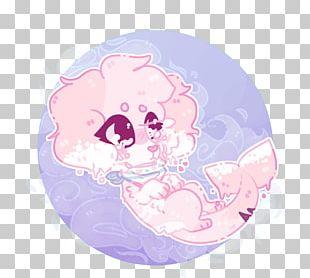 Cartoon Animal Pink M Character PNG