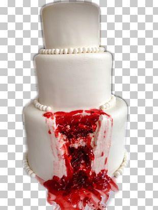 Wedding Cake Torte Red Velvet Cake Halloween Cake PNG