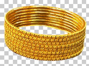 Bangle Jewellery Earring Bracelet Gold PNG