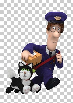 Postman Pat Carrying Delivery PNG