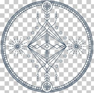Sacred Geometry Circle Symbol PNG