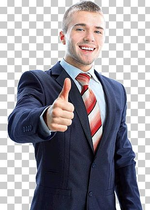 Thumb Up Businessman PNG
