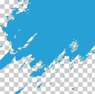 Blue Paintbrush PNG