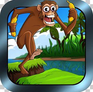 Monkey Fiction Cartoon Character PNG