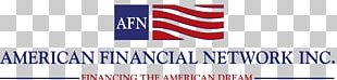 Refinancing Mortgage Loan Finance American Financial Network PNG