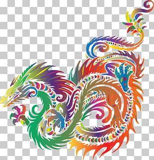 Sea Monster Dragon PNG