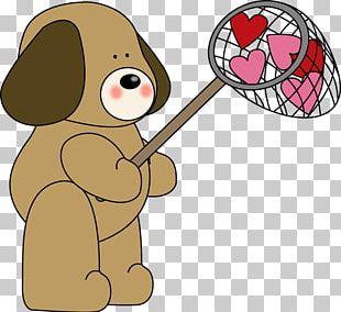 Dog Puppy Valentine's Day Pet PNG