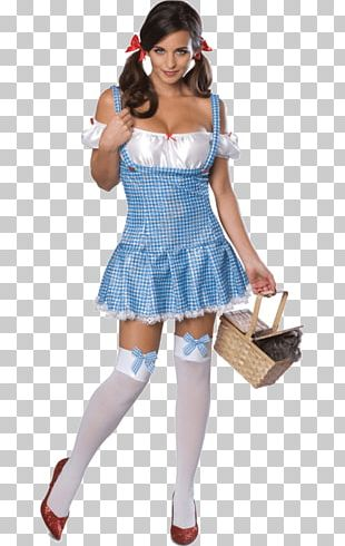 Dorothy Gale The Wizard Of Oz Costume Party Halloween Costume PNG