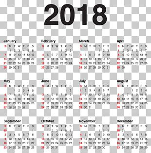 New Year's Day Calendar New Year's Eve Christmas PNG