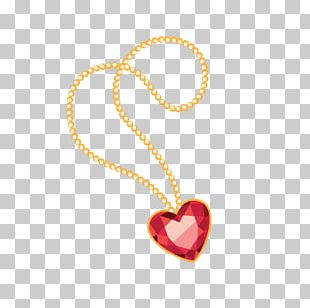 Diamond Necklace Heart Jewellery Ring PNG