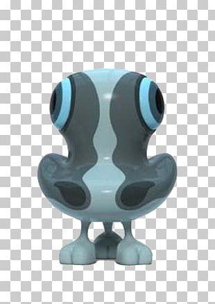 Designer Toy Character Sculpture Illustration PNG