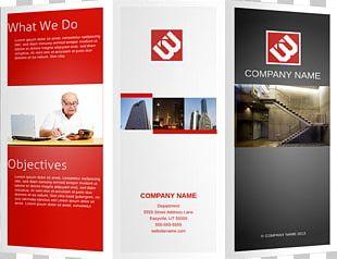 Marketing Brochure Template Pamphlet PNG