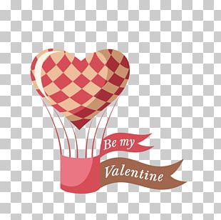 Valentines Day Heart Illustration PNG
