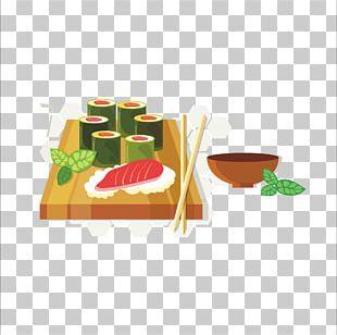 Japanese Cuisine Sushi Sashimi PNG
