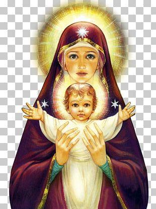 Mary Madonna Child Jesus PNG