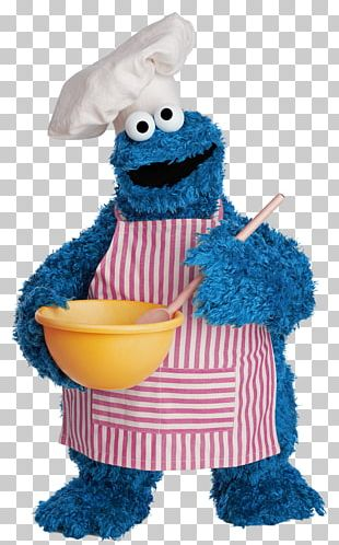 Cookie Monster Mr. Snuffleupagus Ernie Chocolate Chip Cookie Sesame Street Characters PNG