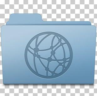 Electric Blue Circle Font PNG