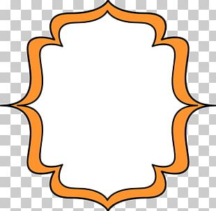 Frame Orange PNG