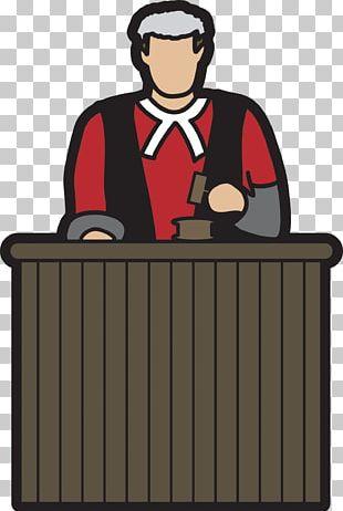 Judge Court Cartoon PNG