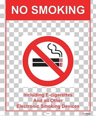 Smoking Ban Electronic Cigarette Poster Tobacco Smoking PNG