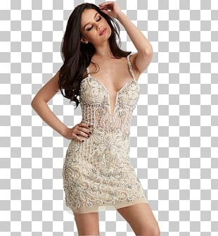 Cocktail Dress Spaghetti Strap Jovani Fashion Evening Gown PNG