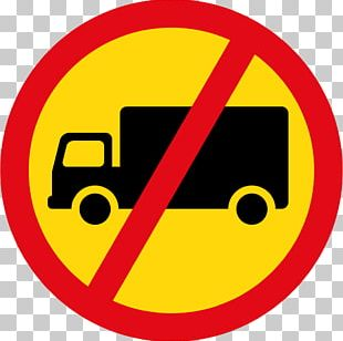 Prohibitory Traffic Sign Truck Road PNG