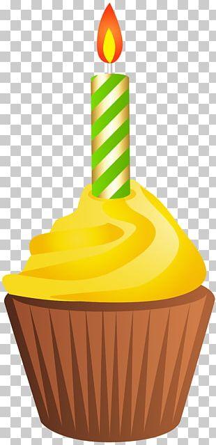 Muffin Birthday Cake Cupcake PNG