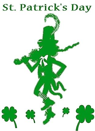 Ireland Saint Patricks Day Shamrock Holiday PNG
