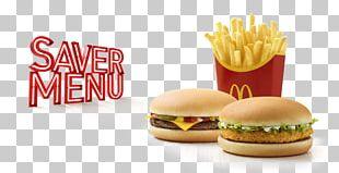 Hamburger Breakfast Cheeseburger McDonald's Menu PNG