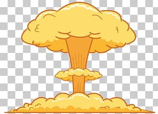 Mushroom Cloud Nuclear Weapon Explosion Bomb PNG