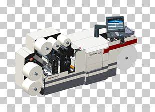 Printing Press Mark Andy Digital Printing Offset Printing PNG