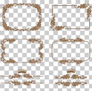 Decorative Borders Drawing PNG