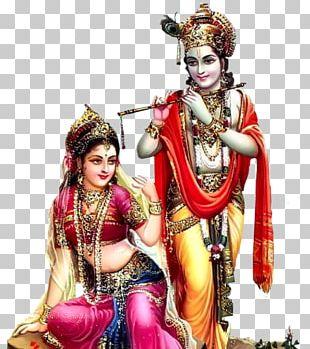 Radha Krishna Hanuman God Desktop PNG
