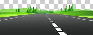 Road Curve Asphalt Concrete PNG