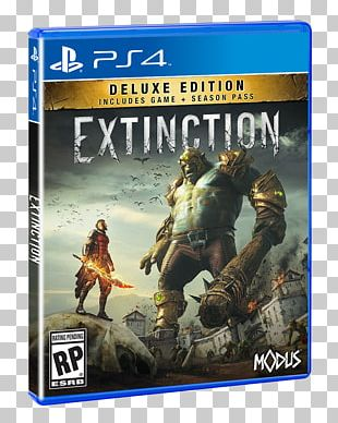 Extinction Deluxe Edition PlayStation 4 Video Game Xbox One PNG