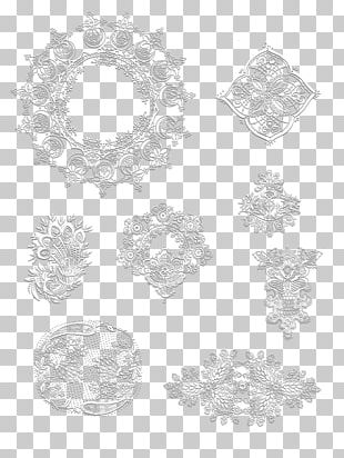 Stencil Ornament Pattern PNG
