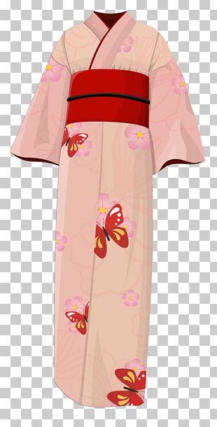 Japanese Clothing Kimono Fashion Dress PNG
