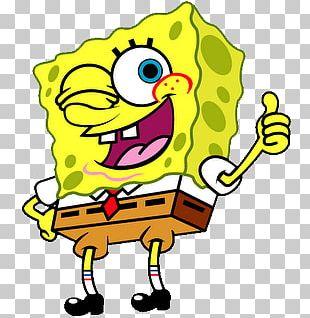 Spongebob Thumb Up PNG