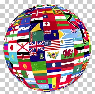 Globe Flags Of The World PNG