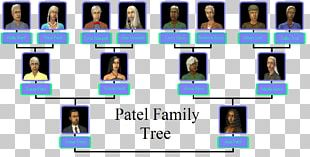 The Sims 2 The Sims 3 Family Tree Template PNG
