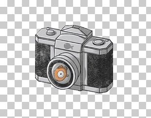 Camera Cartoon Illustration PNG