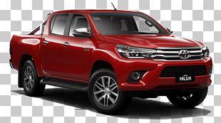 Toyota Hilux Car Pickup Truck Ute PNG